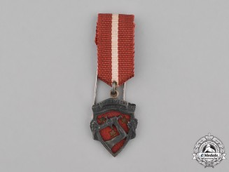Latvia, Republic. A Miniature Liberation War Medal, c.1925