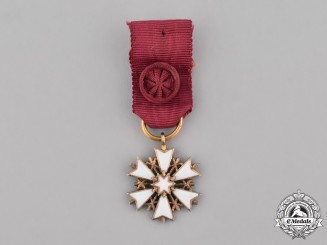 Estonia, Republic. A Miniature Order of the White Star, V Class Cross, c.1940