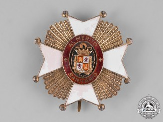 Spain, Franco Period. A Order of Public Health, Grand Cross Star, c.1950