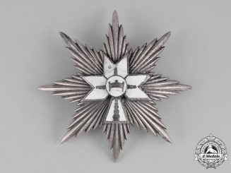 Croatia, Independent State. An Order of King Zvonimir's Crown, I Class Star,