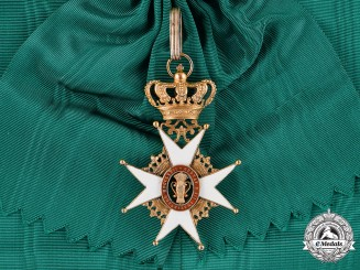 Sweden, Kingdom. An Order of Vasa, I Class Grand Cross, c.1910