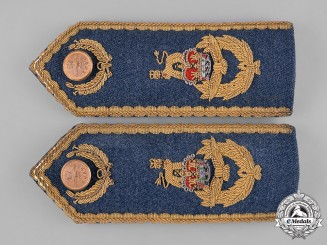Canada, Commonwealth. A Pair of Royal Canadian Air Force Shoulder Boards