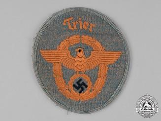 Germany, Ordnungspolizei. An Trier Gendarmerie EM/NCO's Sleeve Insignia