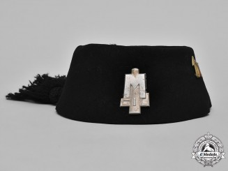 Italy, Kingdom. A Youth of the Lictor (GIL) Member's Fez, c.1940