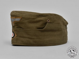 Germany, Heer. An Army DAK Tropical Overseas Cap, by Hans Brandt