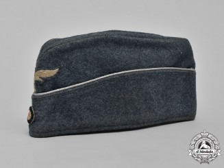 Germany, Luftwaffe. An Officer's Converted Overseas Cap, by L. Püttmann