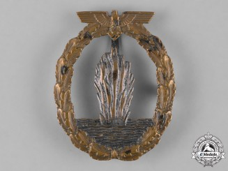 Germany, Kriegsmarine. A Minesweeper War Badge