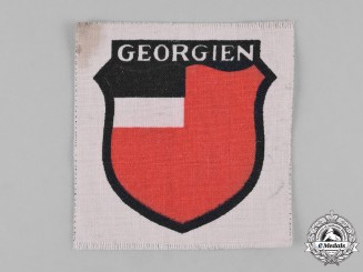 Germany, Wehrmacht. A Georgian Legion Arm Shield