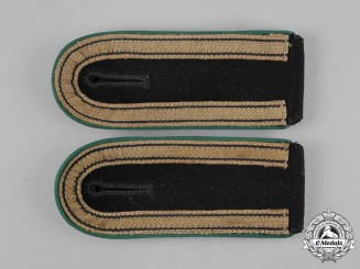 Germany, SS. A Pair of Gebirgstruppe Unterscharführer Shoulder Straps