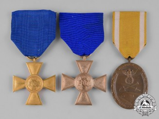 Germany. A Group of Service Medals
