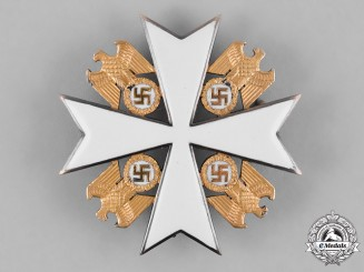 Germany, Third Reich. An Order of the German Eagle, IV Class Cross, by Deschler & Sohn