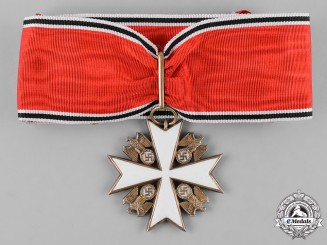 Germany, Third Reich. An Order of the German Eagle, I Class, Type I, by Deschler