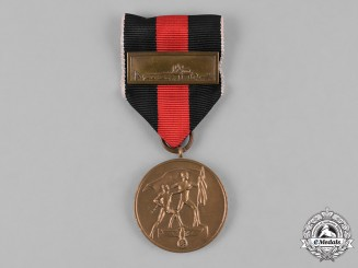 Germany, Third Reich. A Sudetenland Medal with Clasp