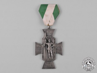 Saxony, Kingdom. A 200th Anniversary of the Royal Saxon 4th Infantry Regiment Cross, by Deschler & Sohn