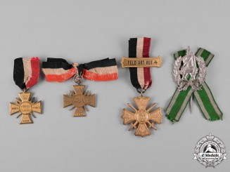 Germany, Imperial. A Collection of Regimental Badges