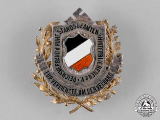 Germany, Third Reich. A Badge for Service to the War Bereaved