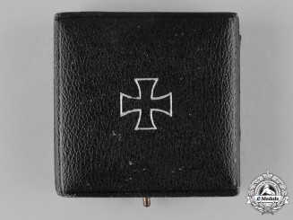 Germany, Wehrmacht. A Case for a 1939 Iron Cross I Class