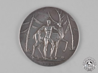 Germany, Weimar. A German Track and Field Table Medal, by Hoene