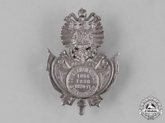 Germany, Imperial. A Strasbourg Veterans Association Cap Badge