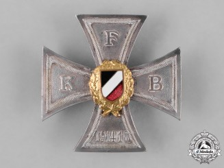 Germany, Weimar. A Front Fighter's League Honour Cross, by Deschler & Sohn