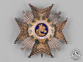 Spain, Kingdom. A Royal & Military Order of St. Hermenegild, Commander by Number Star, c.1920