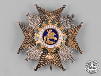 Spain, Kingdom. A Royal & Military Order of St. Hermenegild, Commander by Number Star, c.1920
