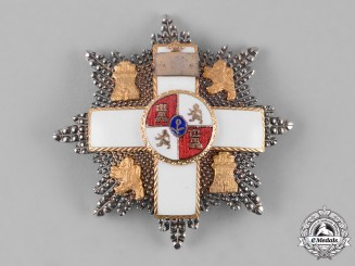 Spain, Kingdom. An Order of Military Merit, White Distinction, II Class Cross, c.1930