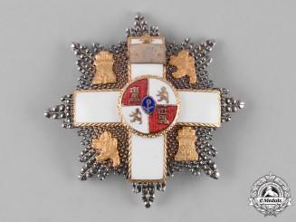 Spain, Kingdom. An Order of Military Merit, White Distinction, II Class Cross, c.1930