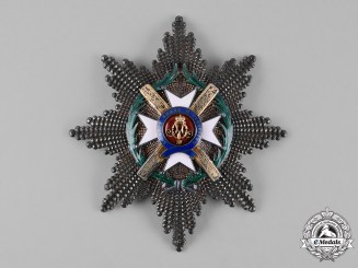 Serbia, Kingdom. An Order of the Cross of Takovo, I Class Grand Cross Star, by Rothe, c. 1900