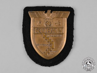Germany, Heer. A Heer (Army) Kuban Shield for Panzer Crews