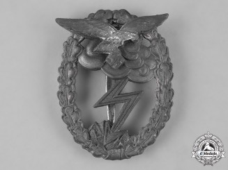 Germany, Luftwaffe. A Ground Assault Badge, by Rudolf Karneth