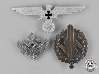 Germany, Third Reich. A Lot of Third Reich Period Insignia