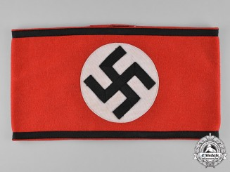 Germany, SS. An Armband, RZM Tagged