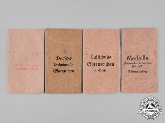 Germany, Wehrmacht. A Lot of Second War Period Paper Packets of Issue