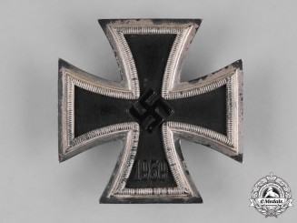 Germany, Wehrmacht. A 1939 Iron Cross I Class, by B.H.Mayer