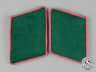 Germany, Luftwaffe. A Pair of Ground Division EM/NCO's Engineer Collar Tabs