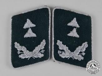 Germany, Luftwaffe. A Pair of Ground Troops Kriegsoberinspektor Collar Tabs