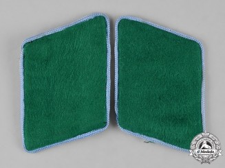 Germany, Luftwaffe. A Pair of Ground Division EM/NCO's Transport Collar Tabs