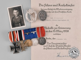 Germany, Wehrmacht. A Collection of Early War Awards, Documents, & Photographs, Infantry Regiment 488