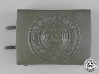 Germany, Imperial. A First War Period Heer (Army) Belt Buckle