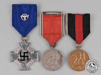 Germany, Third Reich. A Group of Commemorative Medals