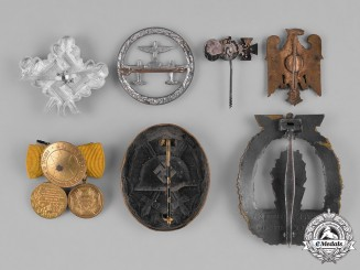 Germany, Third Reich. A Group of Second War Period Badges & Insignia