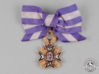 Spain, Kingdom. An Order of Noble Women of Queen Maria Luisa in Gold, Dame's Badge, c.1880
