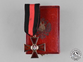 Russia, Imperial. An Order of Saint Vladimir in Gold, 35-Year Long Service Cross by Keibel, c.1866