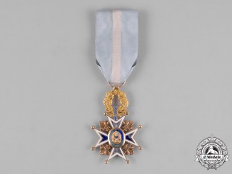Spain, Kingdom. A Royal & Distinguished Order of Charles III in Gold, Knight's Cross c.1880