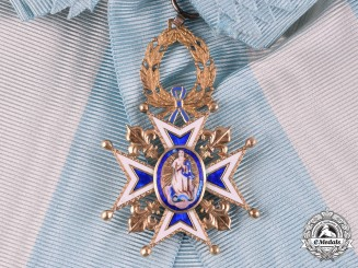 Spain, Kingdom. A Royal and Distinguished Order of Charles III in Gold, Grand Cross c.1890