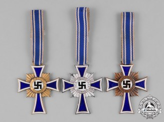Germany, Third Reich. A Group of Honor Crosses of the German Mother