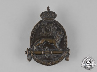 Bavaria, Kingdom. A 1st & 7th Royal Bavarian Field Artillery Event Day Badge, c.1924