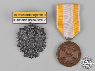 Hannover, Kingdom. A Pair of Hanoverian Commemorative Medals