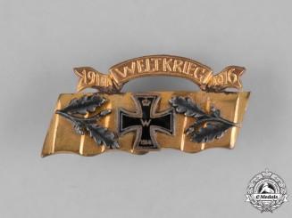 Germany, Weimar Republic.  An Iron Cross Patriotic Sweetheart Pin 1916